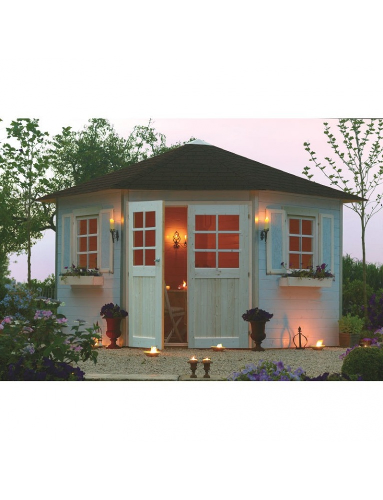 très bel abri de jardin Nancy Chester Garden