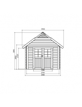 Abri de jardin Cork dimensions