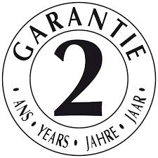 Tous nos articles sont garantis pendant deux ans !